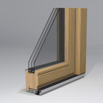 Medinės durys. Profilis T78