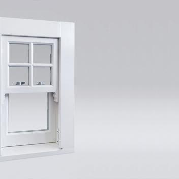 wooden sash window from www.gamalangai.lt/en - design example
