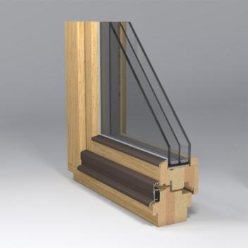 wooden window gama_94 profile design by www.gamalangai.lt/en/