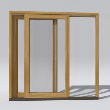 Skirtingų plokštumų terasinių durų pritaikymo pavyzdys
