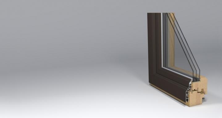 timber window gama_78_classic profile design by www.gamalangai.lt/en/