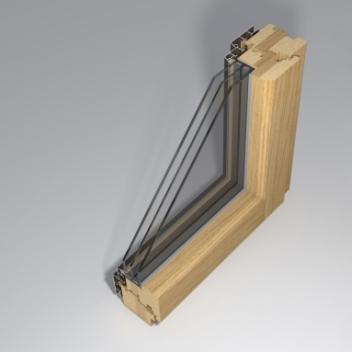 wooden window gama_78_mira profile design by www.gamalangai.lt/en/