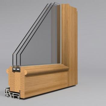 Medinės durys. Profilis GAMA T78 Rustic